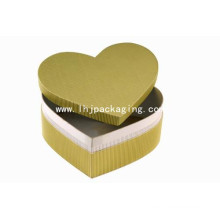 New Design Heart Shape Kraft Gift Packaging Box