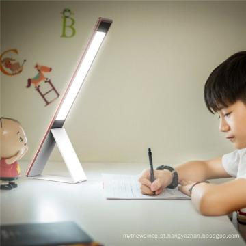 2017 elegante projeta a mini lâmpada de mesa moderna dos banqueiros com dimmer do toque