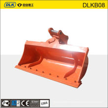 MINI excavator rotating bucket, tilt bucket