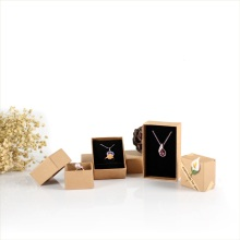 Brown+craft+paper+jewelry+box+set