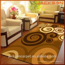 Bester orientalischer Bodenteppich, rutschfester bequemer Polyester-Ausgangsdekor-Teppich