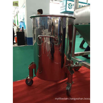 200L Stainless Steel Movable Tank