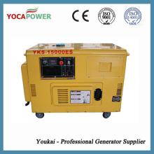 Бесшумный генератор 10 кВт дизельный генератор Цена