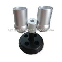 Nouveaux modèles de haute qualité en acier inoxydable en acier inoxydable titulaire de tasse tatouage porte-mitrailleur