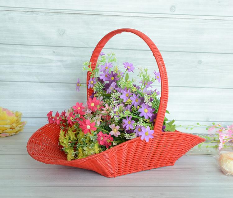 flower gift basket