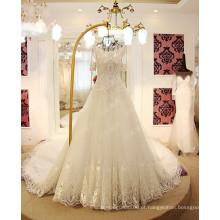 LS17701 Revestimento de cristais revestimento camadas 2017 vestido de casamento de noiva 11.11 vestido de noiva de promoção