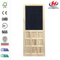 Nine Panel Stainable Screen Door
