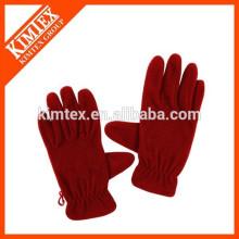 Stickerei Logo Günstige Fleece Handschuh