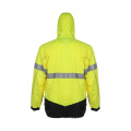Hivis Fluroscent Runing Reflective Safety Jacket
