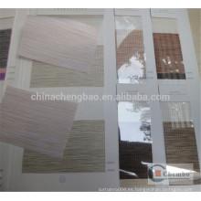 China venta al por mayor elegante cebra ceñido de tela para persianas enrollables cebra