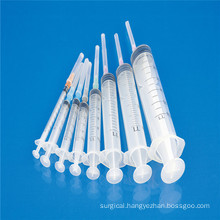 Medical 3 Parts Disposable Syringe with CE ISO SGS GMP TUV