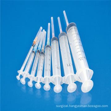Medical Sterile 3 Parts Syringe