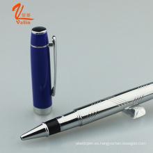 Nuevo Modelo Metal Roller Pen Metal Escribir Pen