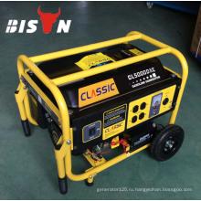 BISON CHINA TaiZhou 3kw Двигатель Однофазный Бесшумный Магнитный 3kw Генератор Бензина Для продажи