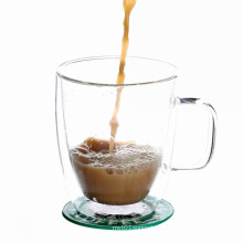 Borosilicate Glass Mug With Holder