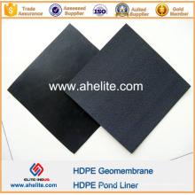Epaisseur de 0,12 mm à 2,5 mm de géomembranes HDPE