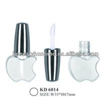 Clear Apple Shape Lip Gloss Make Up Packaging