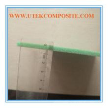 Пенопласт ПВХ 15 мм Зеленый 80кг Просекание и пробивка отверстий