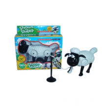 Crianças ovelhas de plástico elétrico ao redor da pilha (10215754)