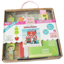 craft activity diy super market stuck playset