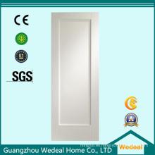 Prehung Interior Flush White Primed Door hueco relleno de la base para el proyecto (WDHC03)