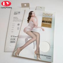 Custom Logo Pantynose Stocking Packaging Paper