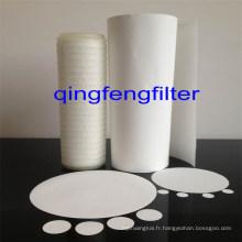 Filtre à membrane 0.45Nylon pour le traitement de l'eau