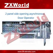 Ascenseur pièces de porte fermator / glissement automatique Opérateur de porte asynchrone -2 porte d'ouverture côté panneau