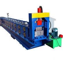 China manufacturer metal steel seamless down pipe and rain gutter making machine for sale
