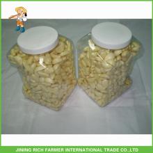 Hochwertige chinesische frische geschälte Knoblauch in 5LBS Glas für den Export
