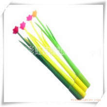 Silicone Ball Pen with Grass and Flower Shape for Promotion