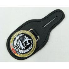 Prix direct usine pour porte-clés en cuir
