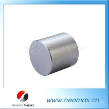 Aimants permanents de cylindre de néodyme
