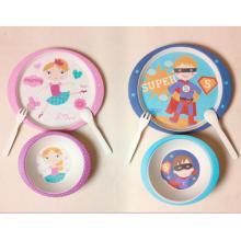 (BC-CS1071) Комплект столовой посуды из бамбукового волокна для детей