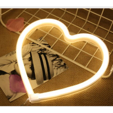 Heart Neon Sculptures Wall Signs