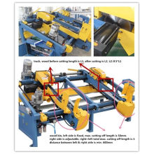 Sf602 Wood Pallet Double End Cutting Saw