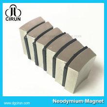 Énergie permanente de moteur d'aimant permanent de néodyme de forme d'arc N52