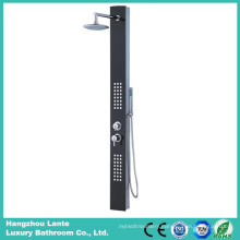 Hot Sales Tempered Glass Shower Panel with Black Color (LT-B713)