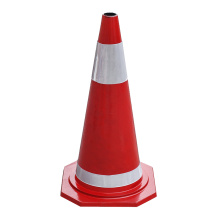 OEM for Road Cone 70cm orange rubber road traffic safety cones supply to Congo, The Democratic Republic Of The Importers