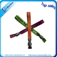 Bracelet matériel de sublimation de colorant de polyester qui respecte l'environnement pour le concert