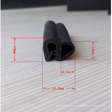 Three Composite EPDM Car Door Rubber Seal Strips