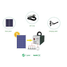Power Solution 25W Solar Portable Home System with Lighting Power