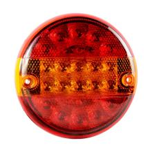 E4 Round Multifunction Truck Hamburger Lights