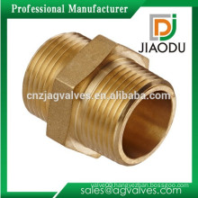 Male to Male M/M Brass Hex Nipple Reducer Connector