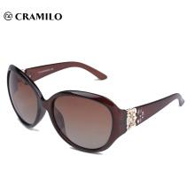lunettes de soleil bon marché sans couleur de lunettes de soleil polarisées de marque (T113)