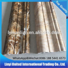 Security and no radiation pvc artificial marble mouldings