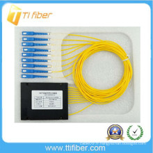 Type de boîte ABS 1x8 plc diviseur SC / UPC