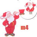 2018 Special Customized Santa Claus USB Stick