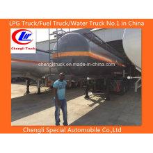 18cbm Heavy Duty Tri-Axle Sulfuric Acid Tank Semi-reboque