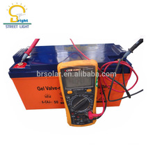 Competitive price 12v 200ah dry cell rechargeable solar battery